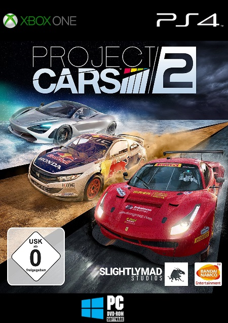 Project CARS 2 - Der Packshot