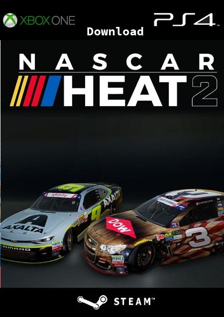 Nascar Heat 2 - Der Packshot