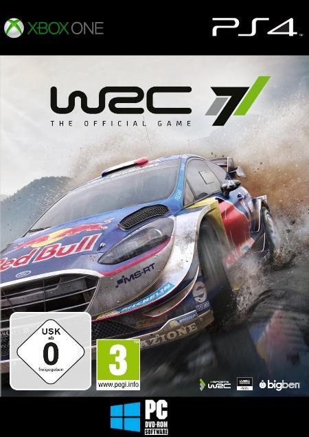 WRC 7 - Der Packshot