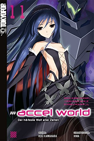 Accel World Novel 11: Der härteste Wolf aller Zeiten  - Das Cover