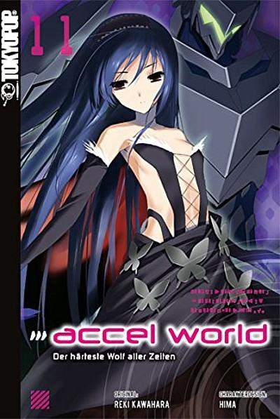 Accel World Novel 11: Der härteste Wolf aller Zeiten  - Das Cover