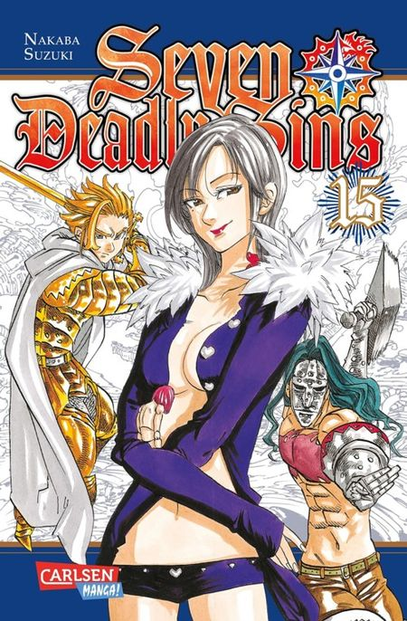 Seven Deadly Sins 15 - Das Cover