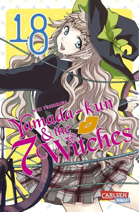 Yamada-kun & the 7 Witches 18 - Das Cover