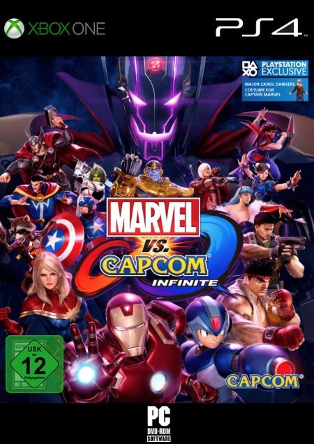 Marvel vs. Capcom Infinite - Der Packshot