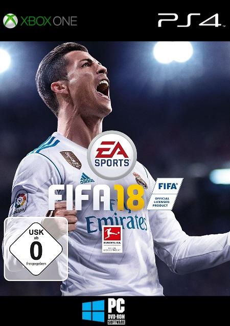 FIFA 18 - Der Packshot