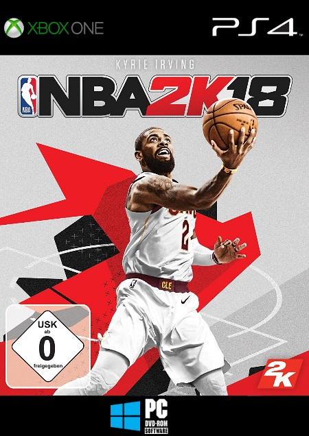 NBA 2K18 - Der Packshot