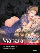 Manara Werkausgabe 17: Der goldene Esel - Pandoras Augen - Das Cover