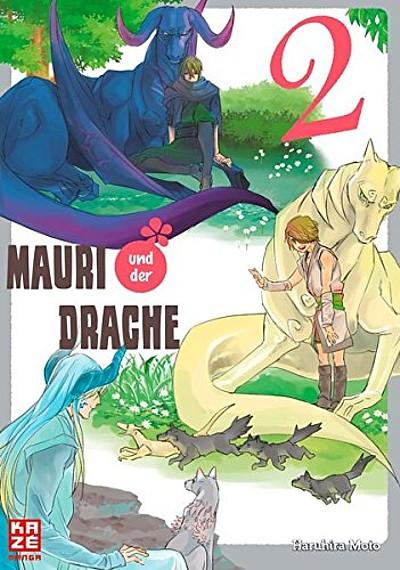 Mauri und der Drache 2 - Das Cover