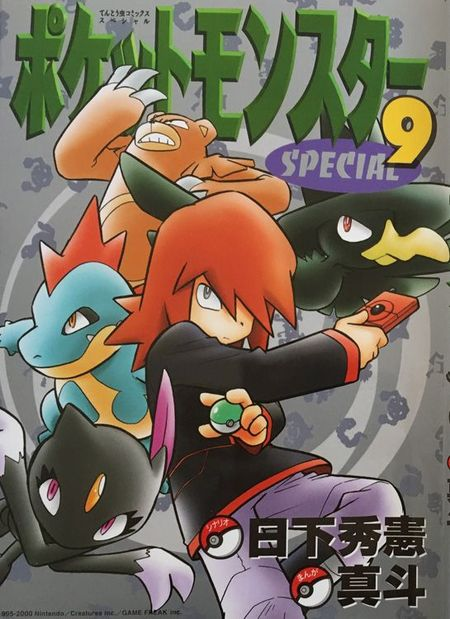 Pokémon: Die ersten Abenteuer 9 - Das Cover