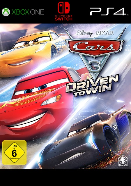 Cars 3: Driven to Win - Der Packshot