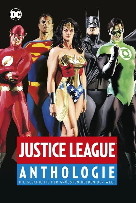 Justice League Anthologie  - Das Cover