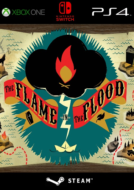 The Flame in the Flood - Complete Edition - Der Packshot