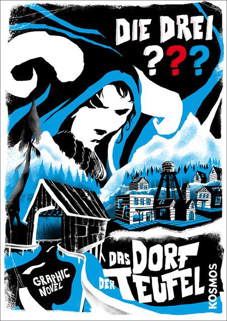 Die drei ??? – Das Dorf der Teufel - Das Cover