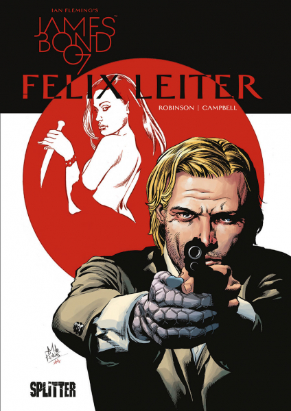 James Bond 007 4: Felix Leiter - Das Cover