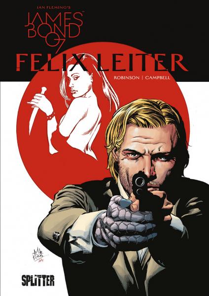 James Bond 007 4: Felix Leiter - Das Cover