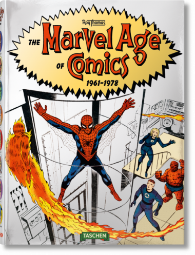 The Marvel Age of Comics 1961 - 1978 - Das Cover