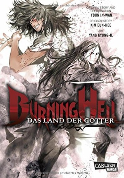 Burning Hell – Das Land der Götter - Das Cover