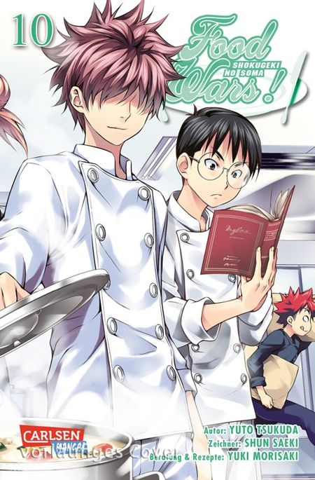 Food Wars! - Shokugeki no Soma 10 - Das Cover