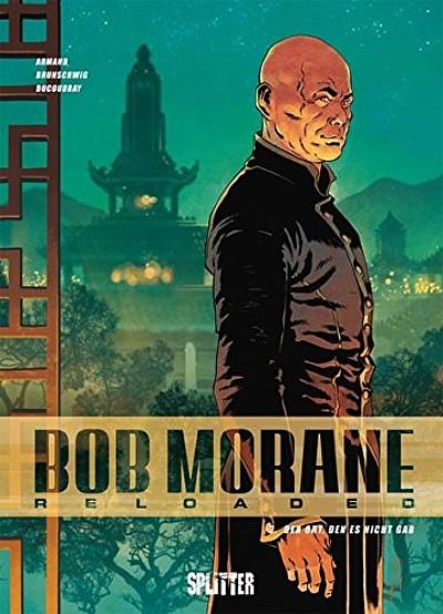 Bob Morane Reloaded 2: Den Ort, den es nicht gab - Das Cover