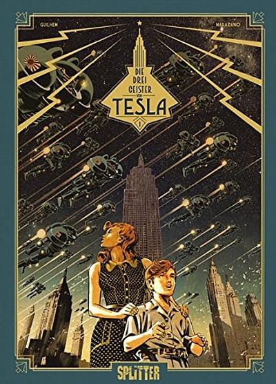Die Drei Geister von Tesla 1: Das Stokavische Geheimnis - Das Cover