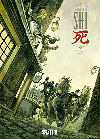 Shi 1: Am Anfang war die Wut - Das Cover
