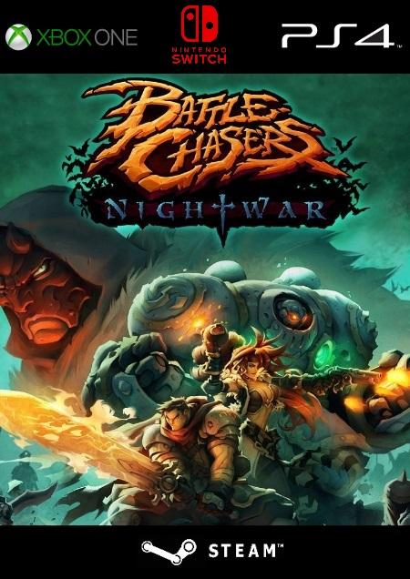 Battle Chasers: Nightwar - Der Packshot
