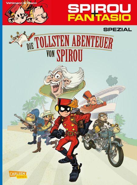 Spirou und Fantasio Spezial 24 – Die tollsten Abenteuer von Spirou - Das Cover