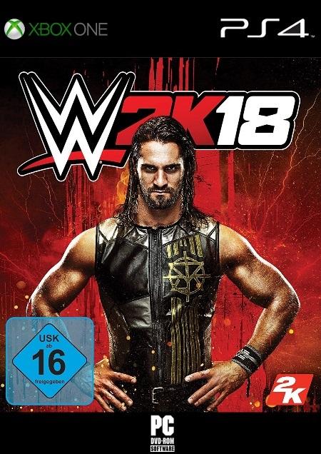 WWE 2K18 - Der Packshot