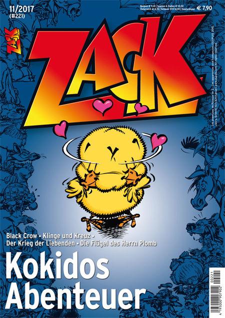 Zack 221 - Das Cover