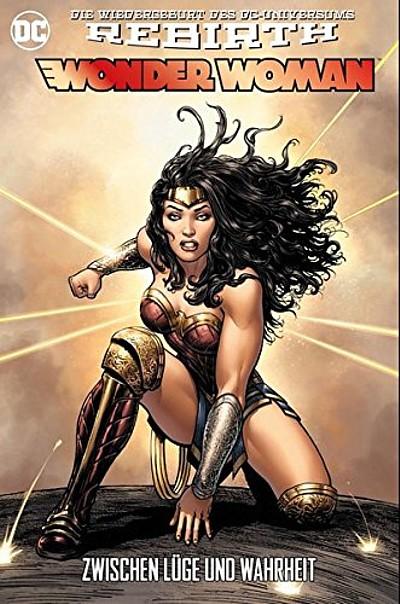 Wonder Woman (Rebirth) 2: Zwischen Lüge und Wahrheit  - Das Cover