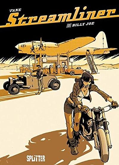Streamliner 1: Billy Joe  - Das Cover