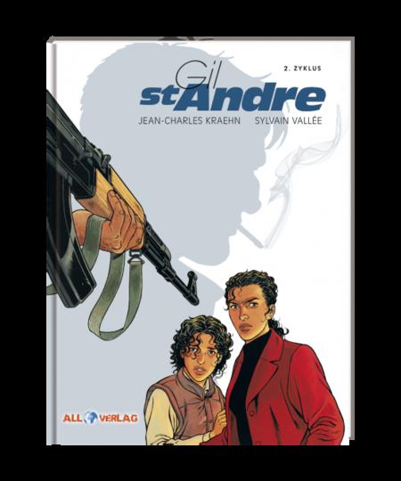 Gil St. Andre Gesamtausgabe 2 - Das Cover