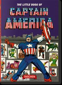 The little Book of Captain America - Das Cover