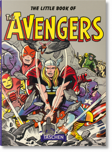 The little Book of the Avengers - Das Cover