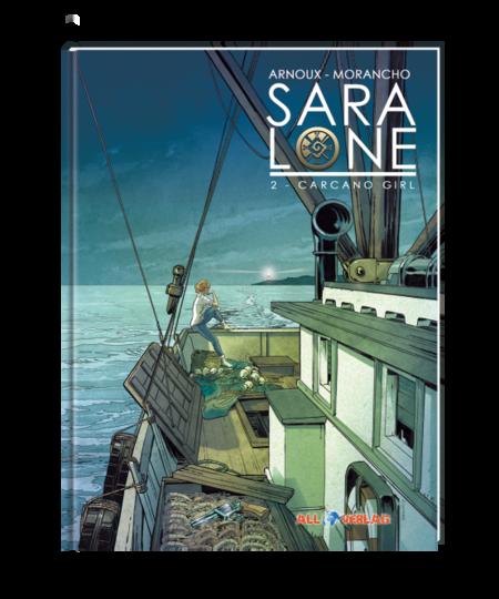 Sara Lone 2: Carcano Girl - Das Cover
