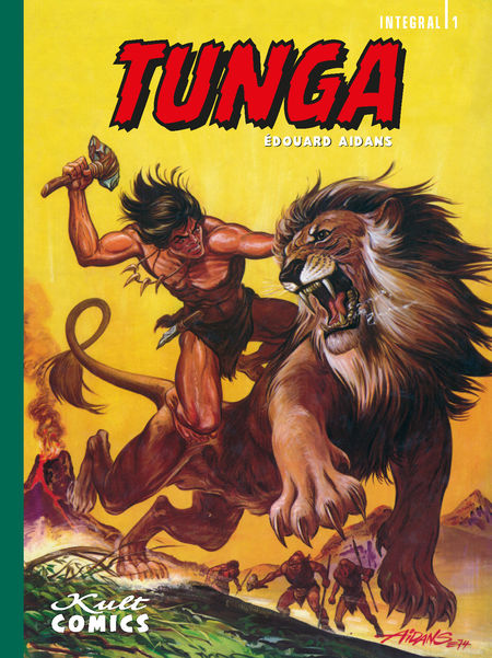 Tunga – Integral 1 - Das Cover