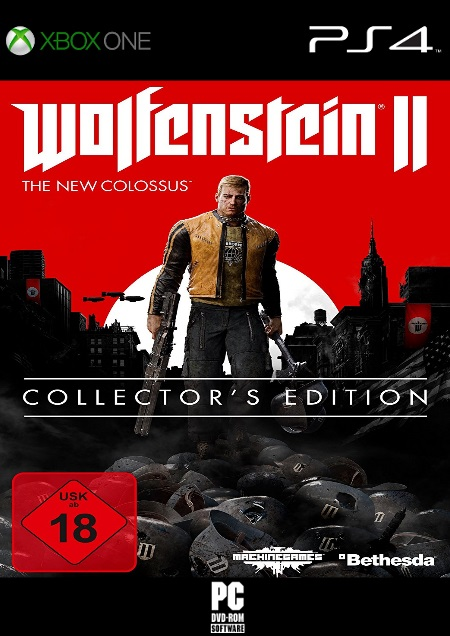 Wolfenstein II: The New Colossus - Der Packshot