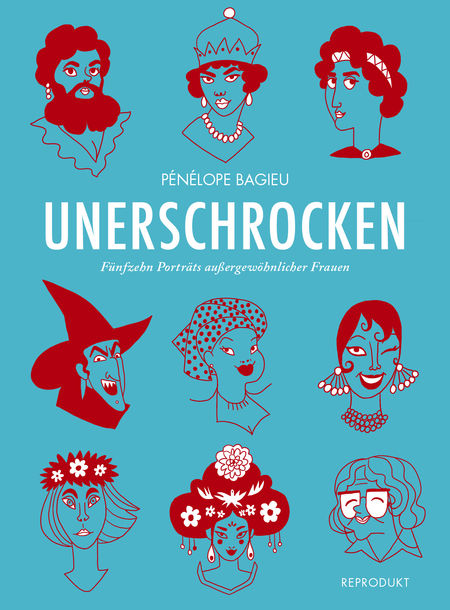 Unerschrocken: Fünfzehn Porträts außergewöhnlicher Frauen - Das Cover
