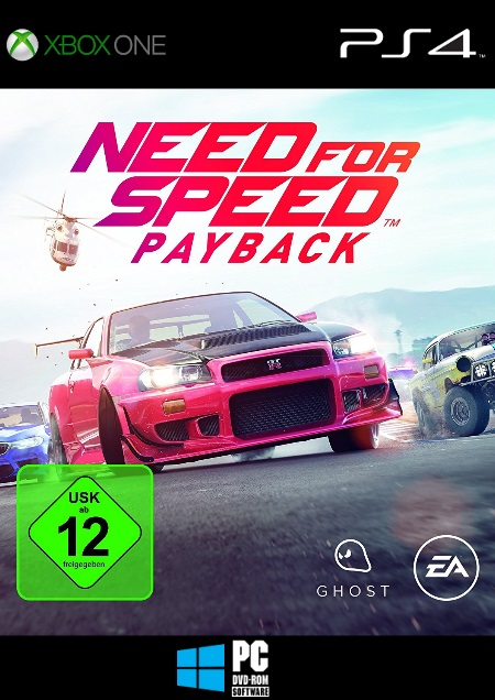 Need for Speed Payback - Der Packshot