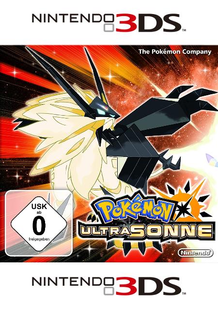 Pokémon Ultrasonne/ Ultramond - Der Packshot