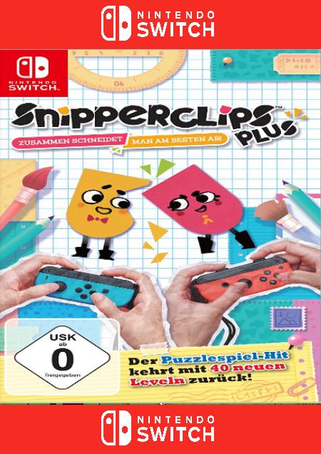 Snipperclips Plus - Zusammen schneidet man am besten ab! - Der Packshot