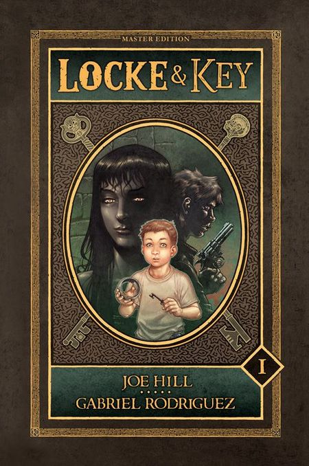 Locke & Key - Master Edition Band 1 - Das Cover