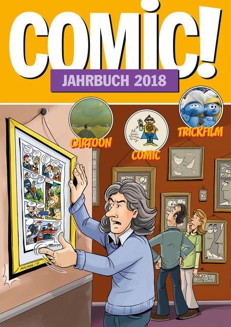 Comic! Jahrbuch 2018 - Das Cover