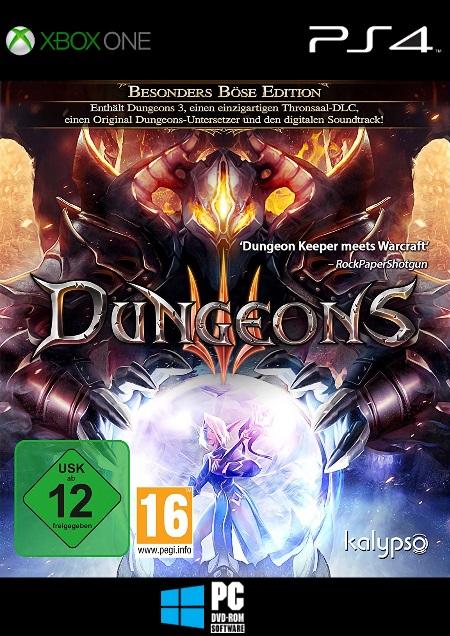Dungeons 3 - Der Packshot
