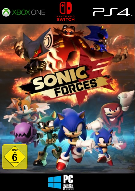 Sonic Forces - Der Packshot