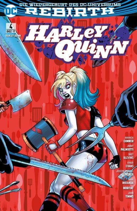 Harley Quinn (Rebirth) 4: Niedere Regionen   - Das Cover