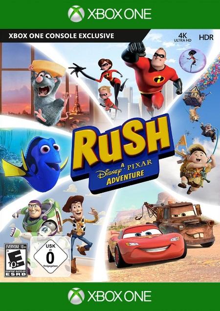 Rush: Ein Disney Pixar Abenteuer - Der Packshot