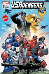 U.S. Avengers 1: Helden, Spione und Eichhörnchen - Das Cover