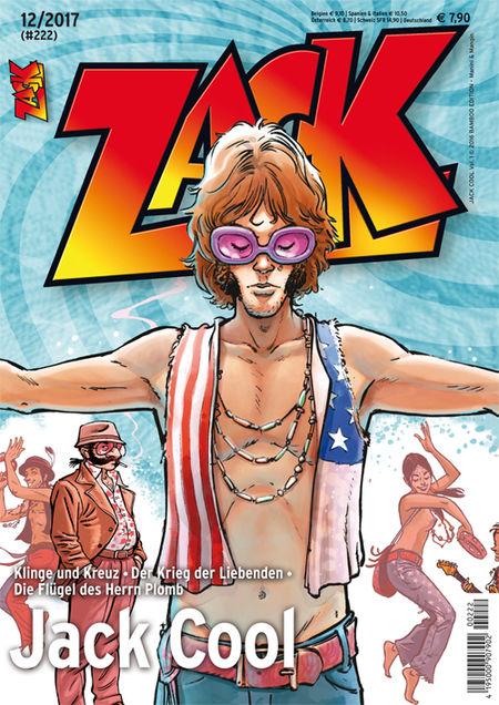 Zack 222 - Das Cover