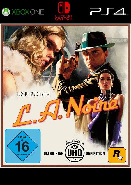 L.A. Noire - Der Packshot